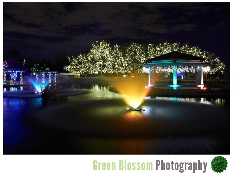 Blossoms Of Light Denver Botanic Gardens Intimate Wedding Photography Jennie Crate