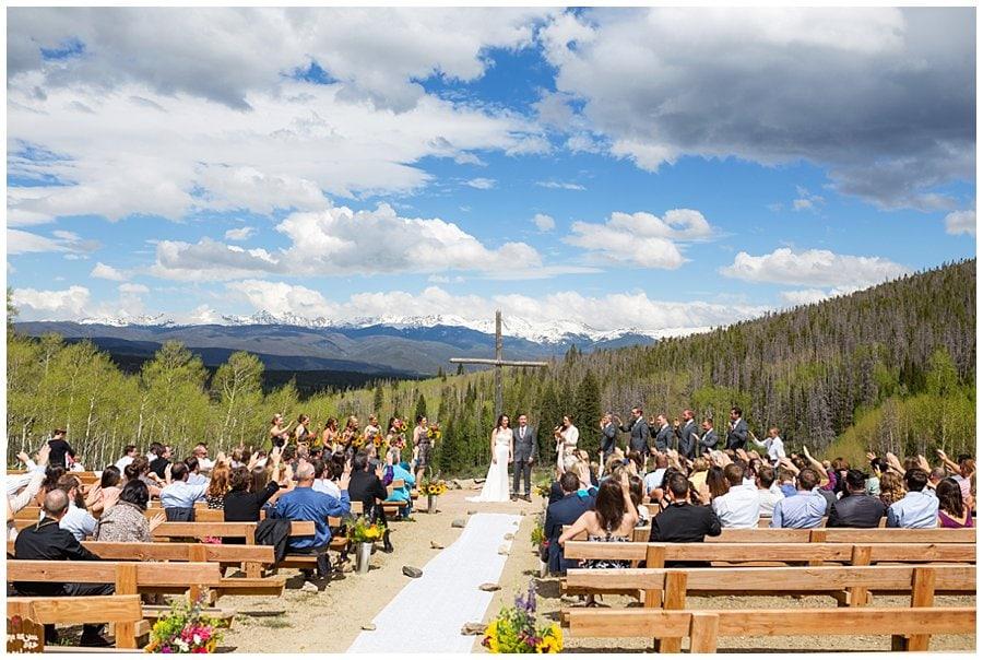 Snow Mountain Ranch Columbine Point wedding photo 2