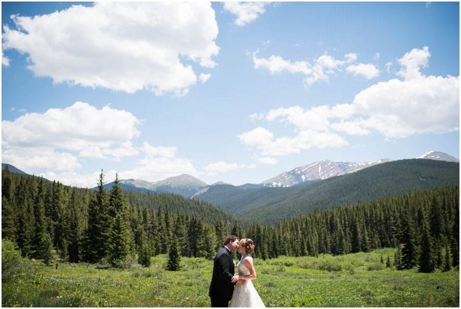 Lodge and Spa at Breckenridge wedding photo