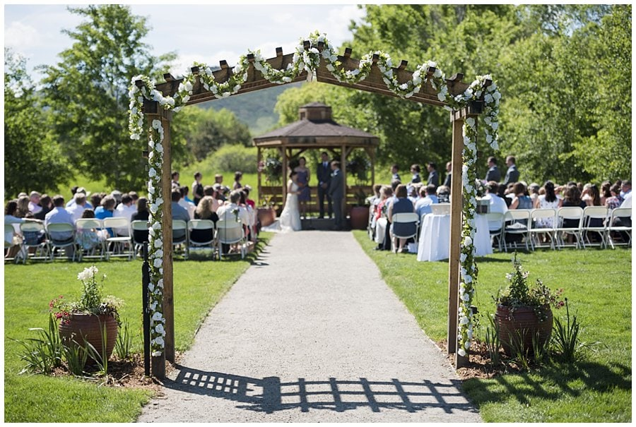 Denver Botanic Garden at Chatfield Wild Flower Chapel wedding photo 3