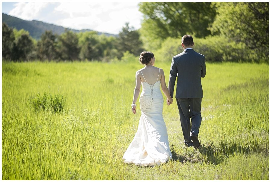 Denver Botanic Gardens at Chatfield wedding couple's photo 3