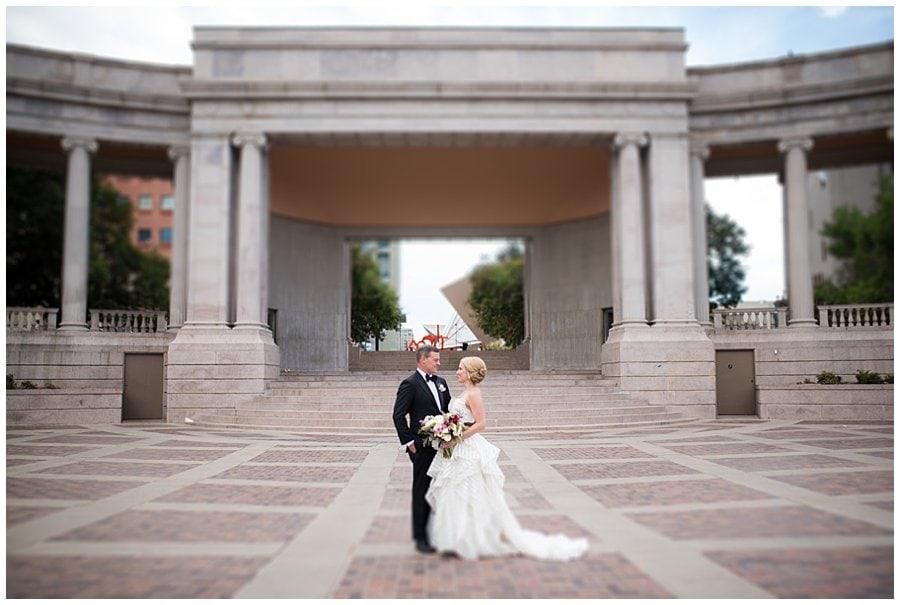 blanc Denver wedding Civic Center Park portraits photo 8
