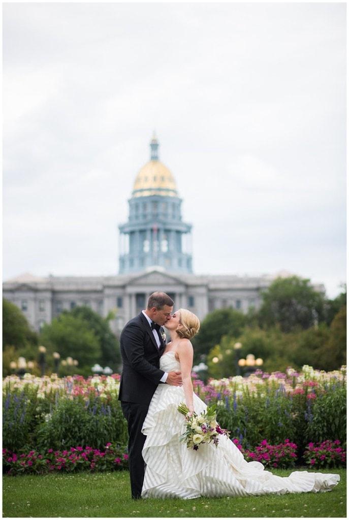 blanc Denver wedding Civic Center Park portraits photo 9