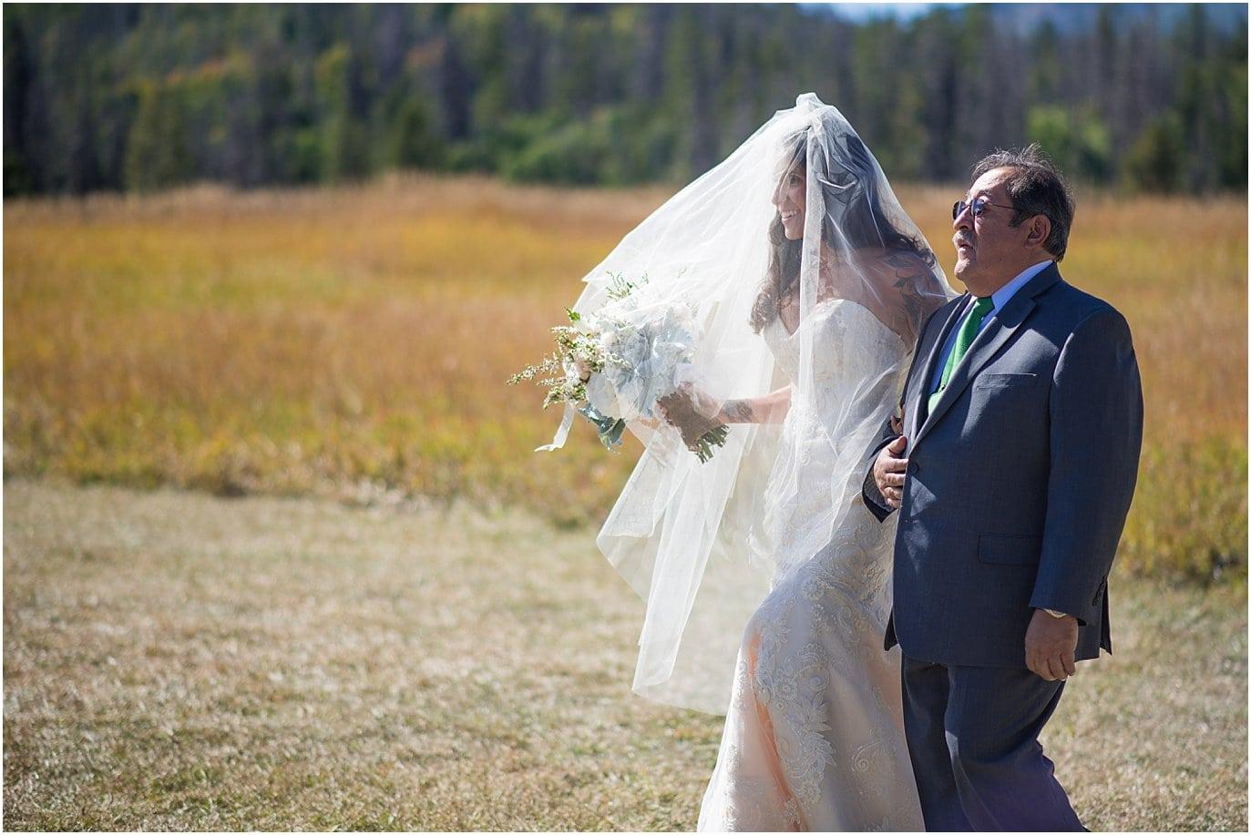 Midnight Ranch intimate wedding ceremony photo