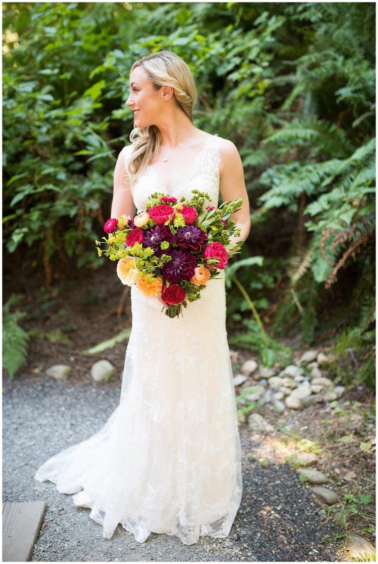 Bloom by Tara vibrant woody wedding bouquet photo
