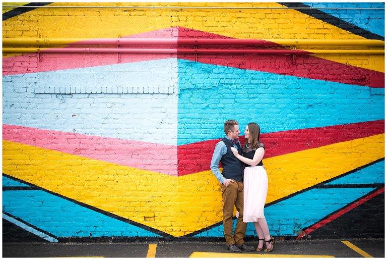 RiNo Denver Engagement photo
