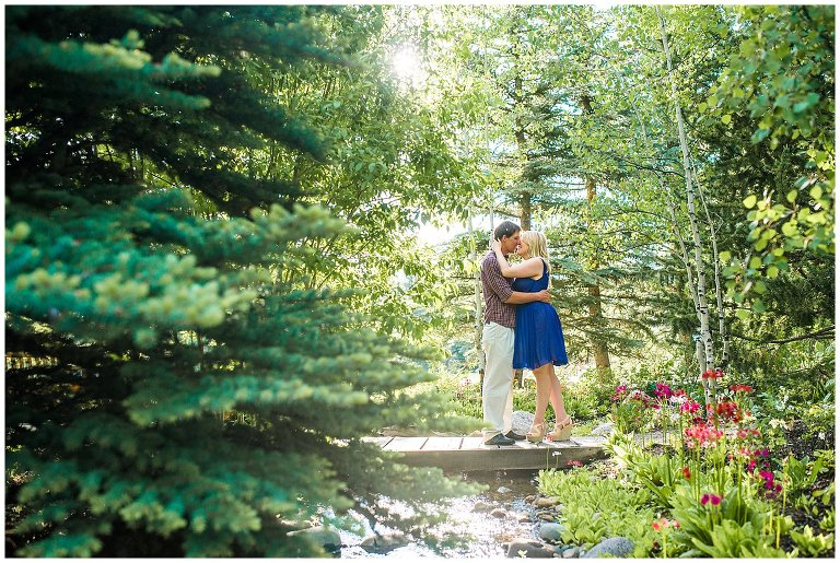 Betty Ford Alpine Gardens Engagement Photo ...