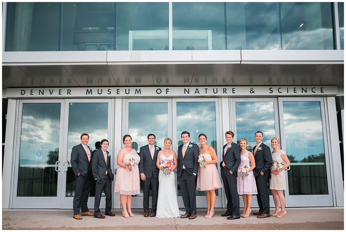 Denver Museum Of Nature And Science Wedding Photos
