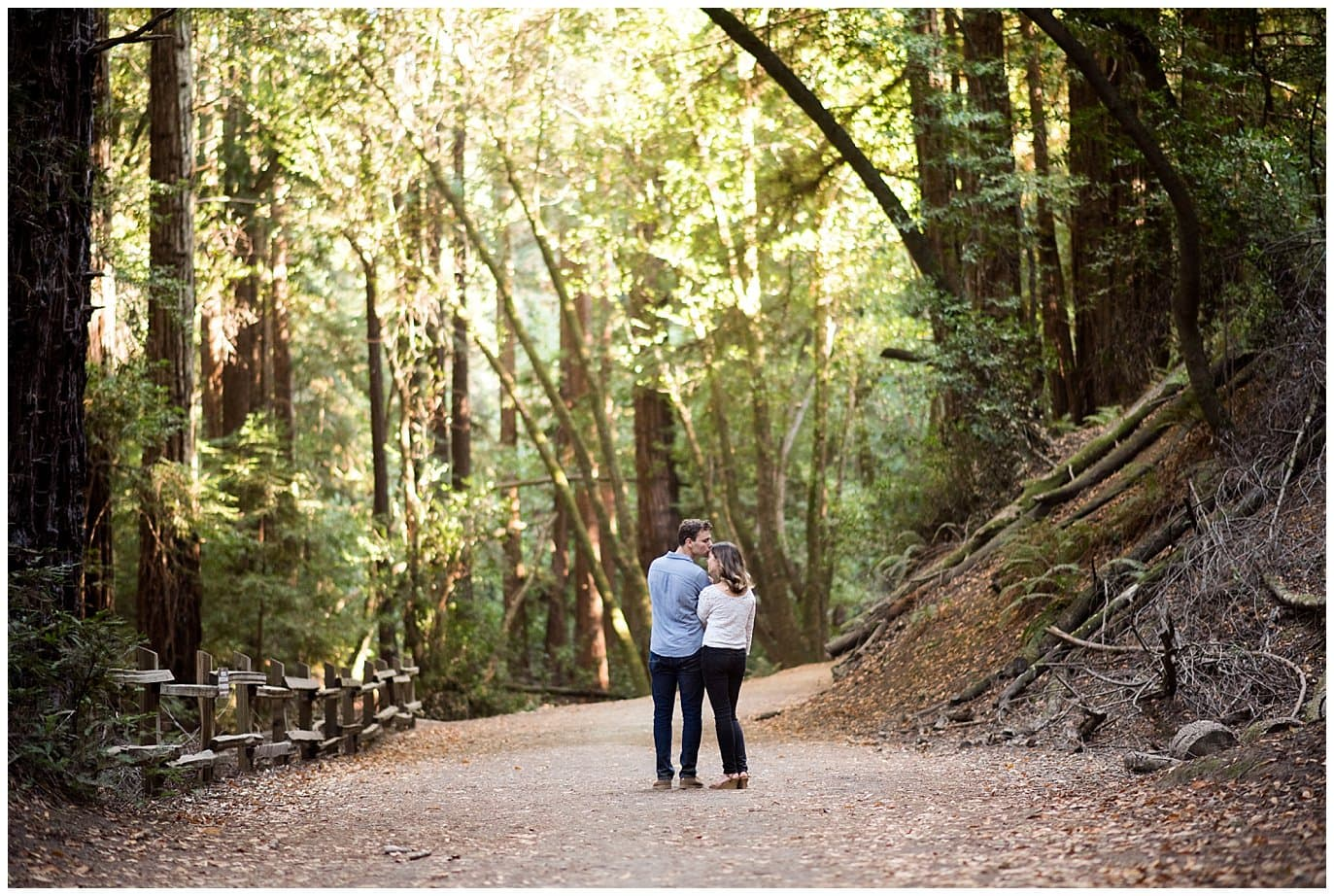 Redwood Regional Park Oakland Engagement photo
