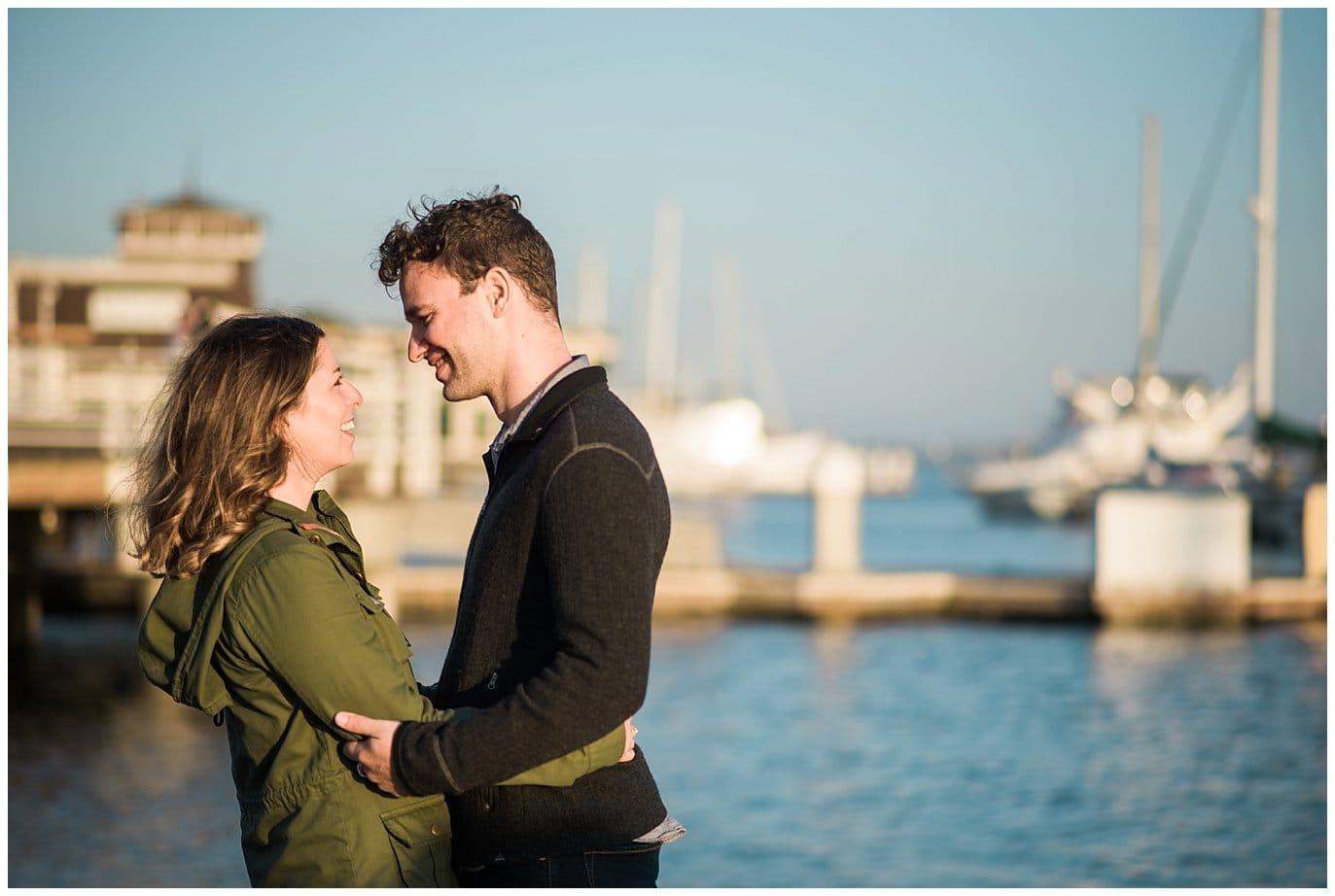 Oakland Bay Engagement photo