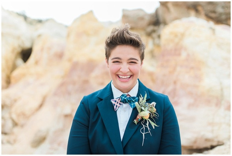 Intimate Colorado Paint Mines Elopement | Becca and Hillary