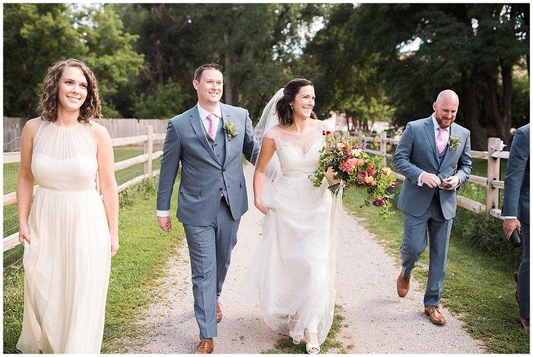 Colorado farm wedding photo