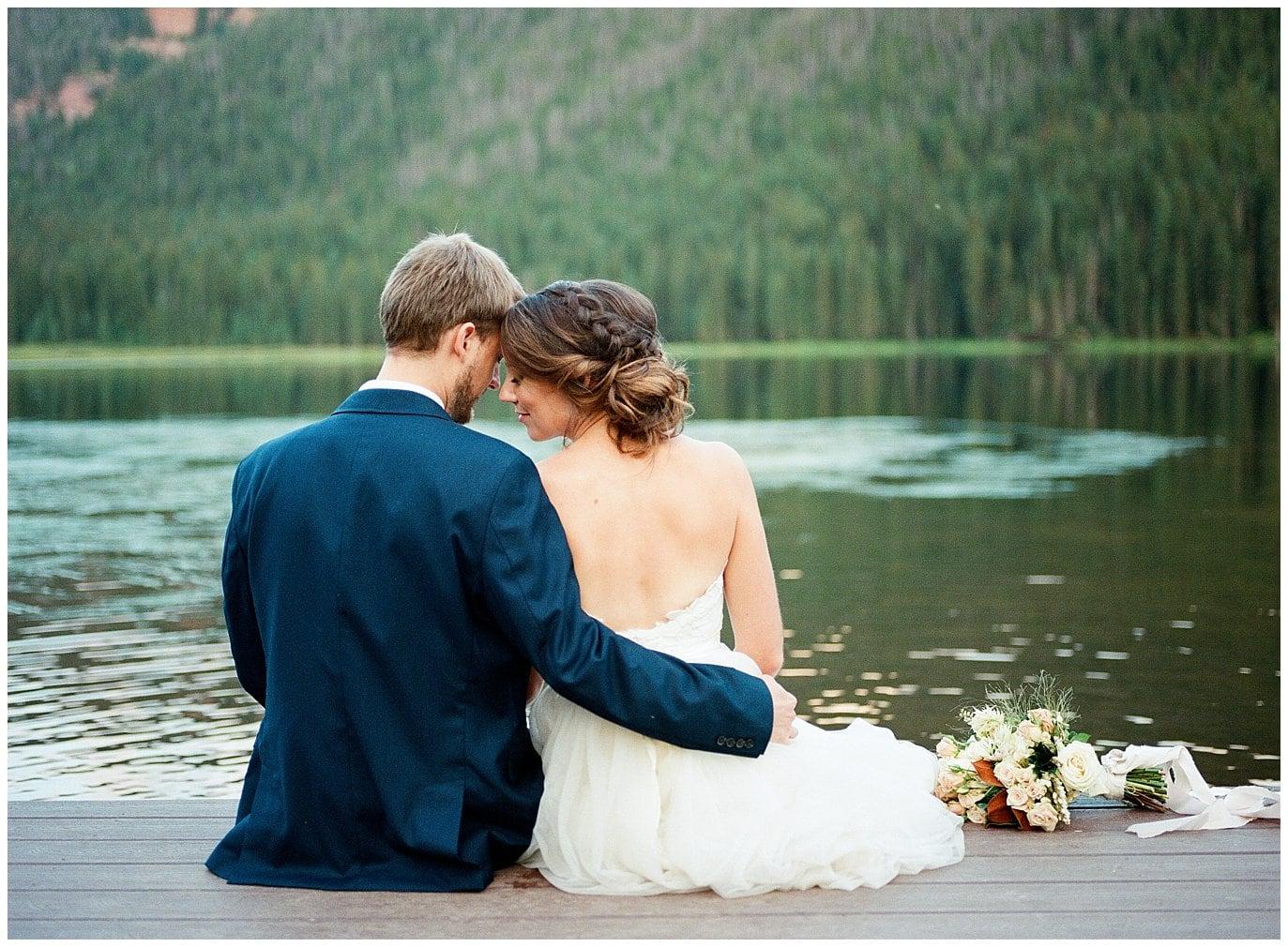 Piney River Ranch Intimate Wedding Photo
