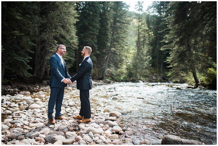 vail same-sex wedding photo