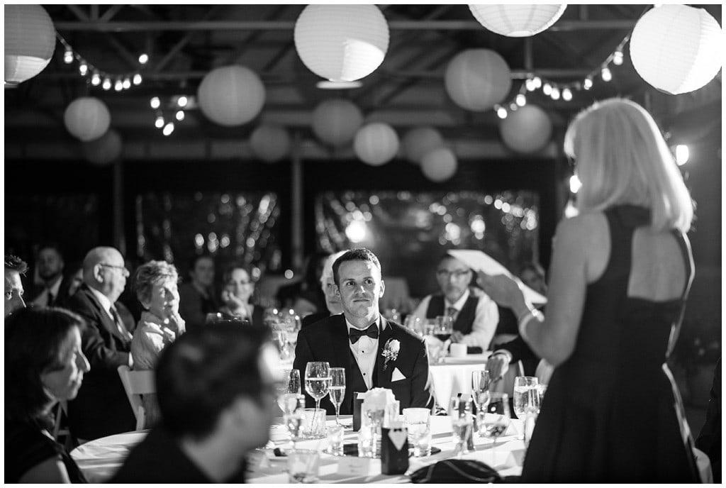 Denver Athletic club gay wedding photo