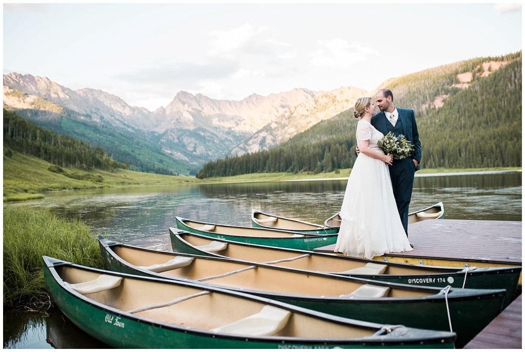 Piney River Ranch Summer Wedding photo