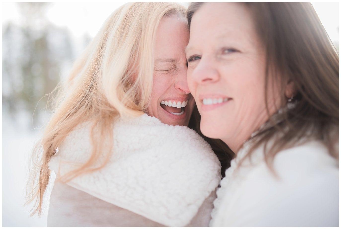 same-sex winter elopment