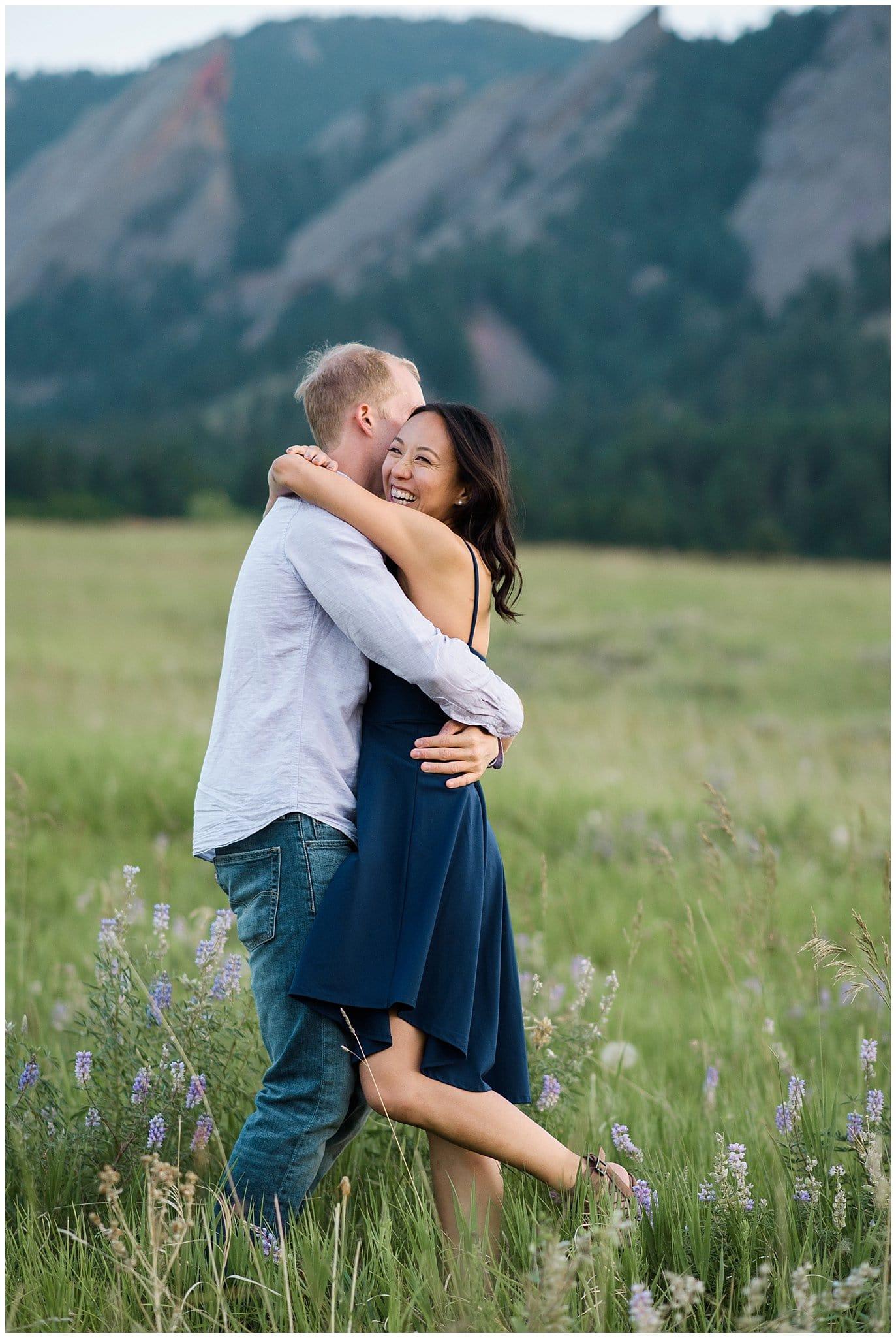 Colorado Engagement Session photo