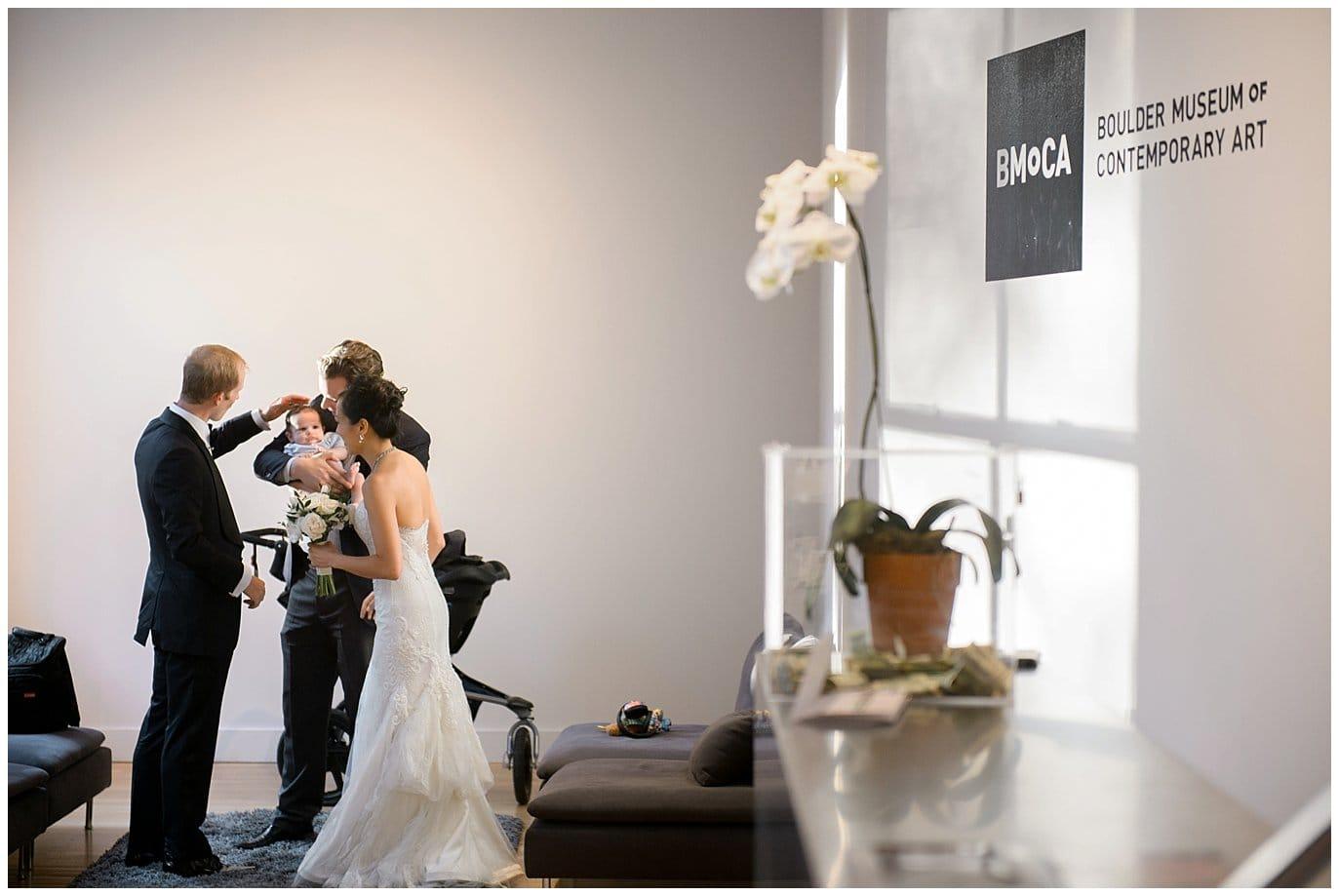 BMOCA wedding reception photo