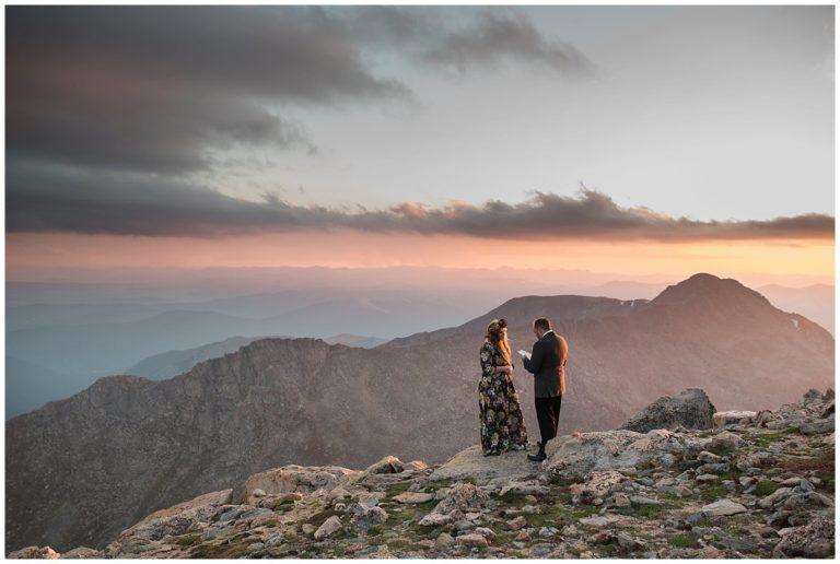 Mt. Evans Elopement | Ellen and John
