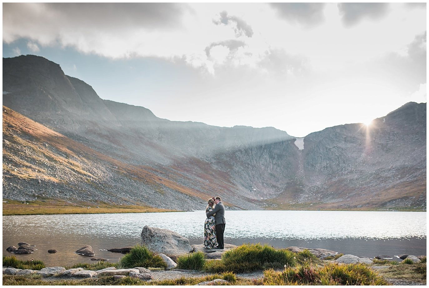 Summit Lake Elopement photo