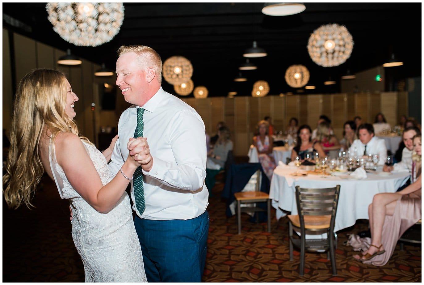 Eagle's Nest wedding reception photo