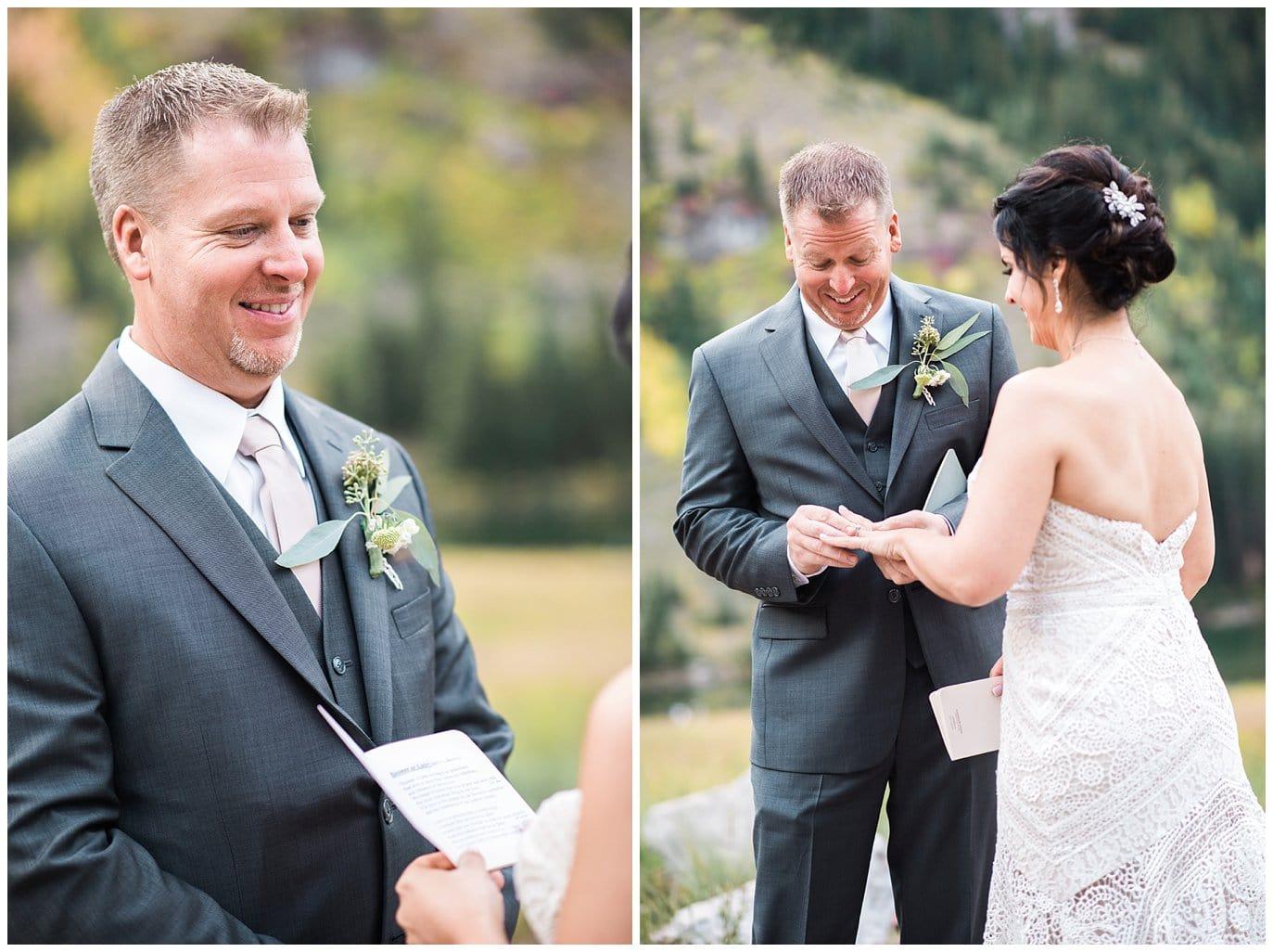 Colorado destination elopement photo