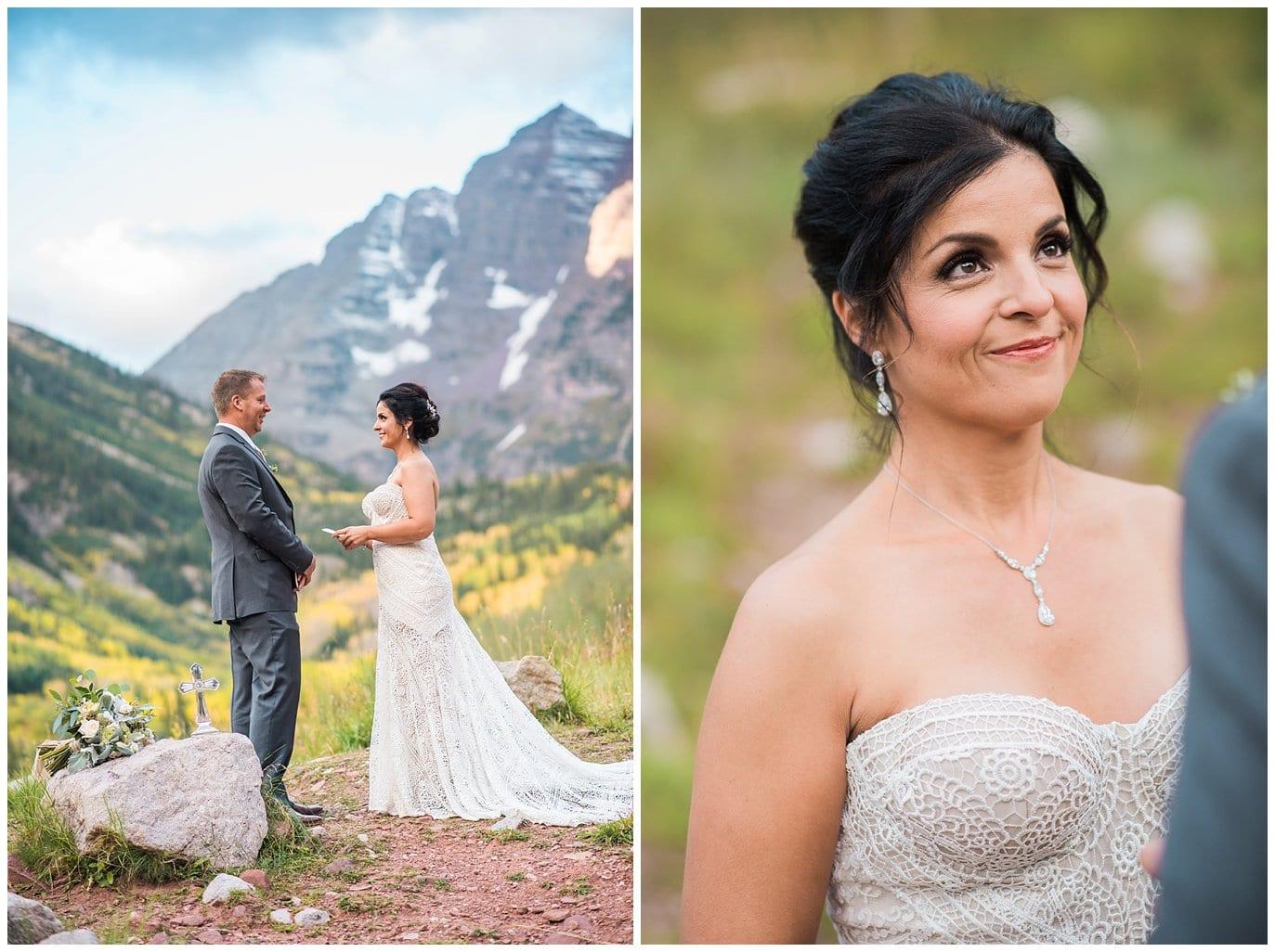 outdoor colorado elopement photo