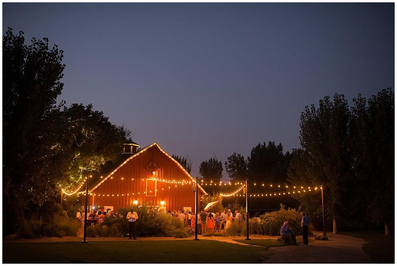 Denver Botanic Gardens at Chatfield wedding barn photo