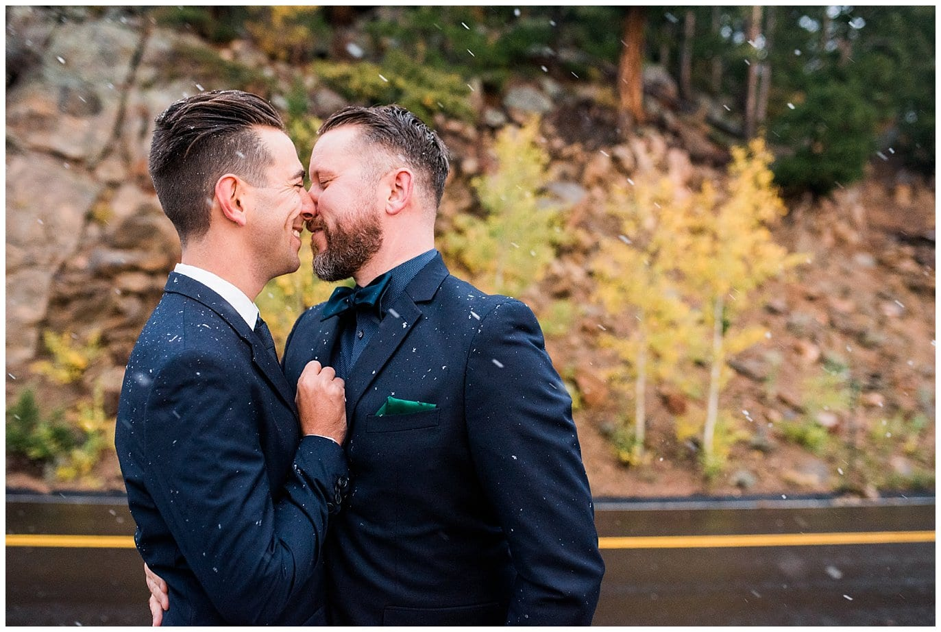 Trail-Ridge Road Same-sex Elopement photo