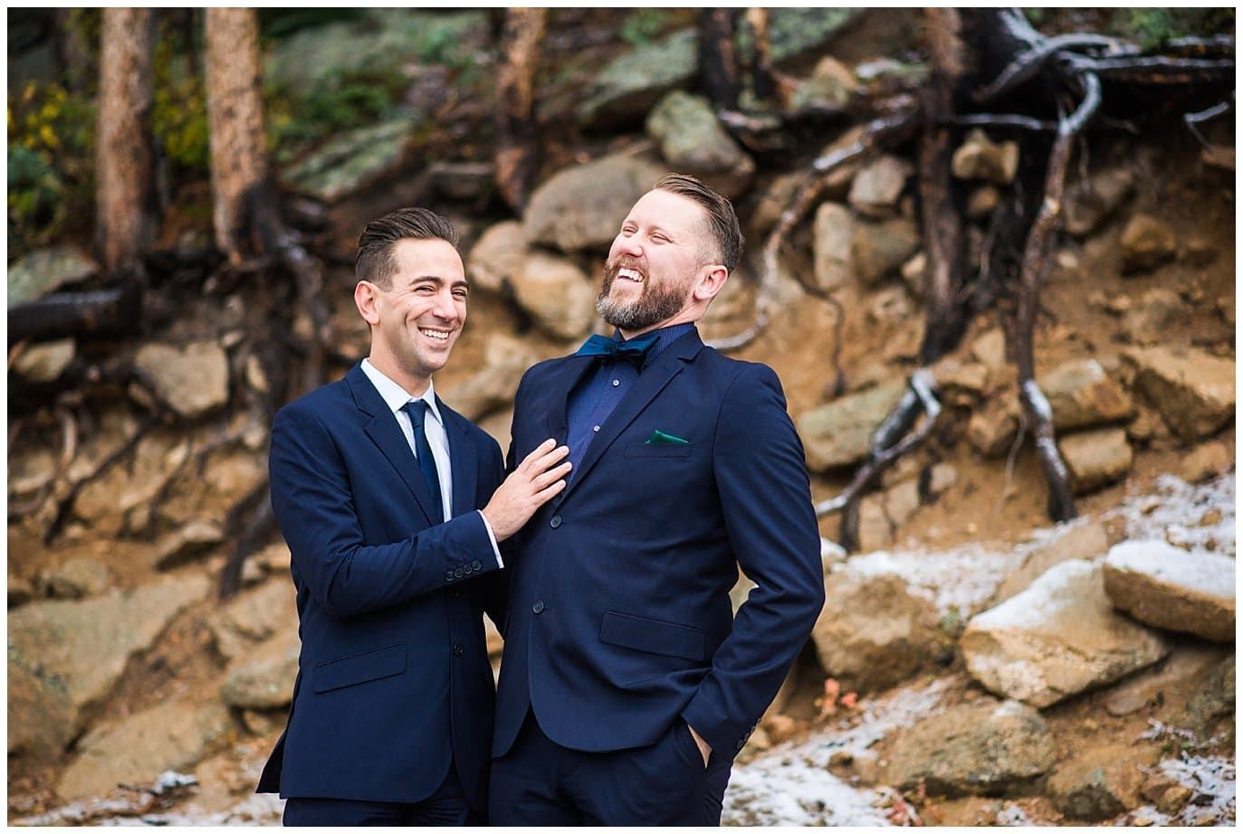 Rocky Mountain National Park elopement photo