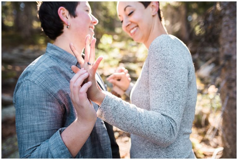 Dream Lake Hiking Engagement | Taylor and Cat