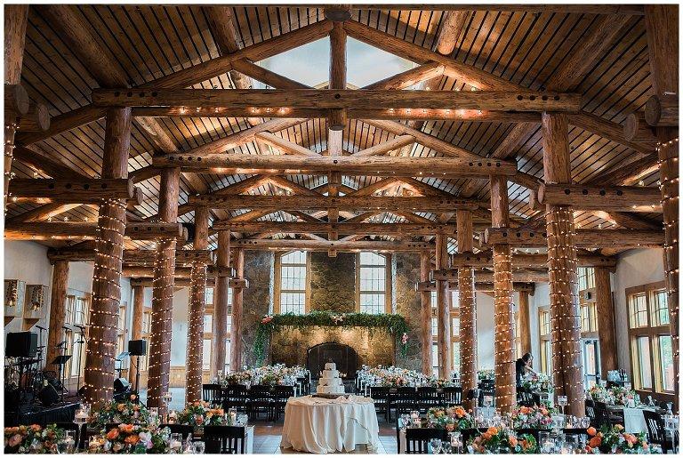 Timber Ridge Keystone Resort Wedding Reception Photo