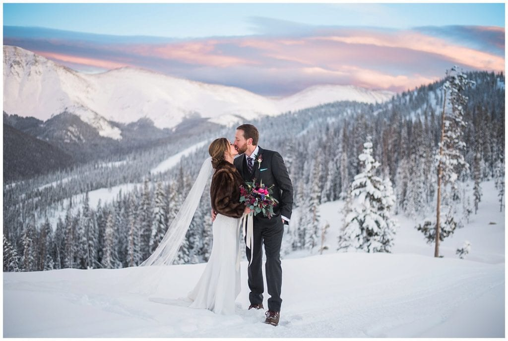 Winter Park Resort Winter Wedding