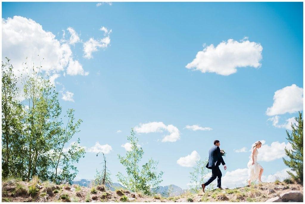 Breckenridge colorado wedding photo