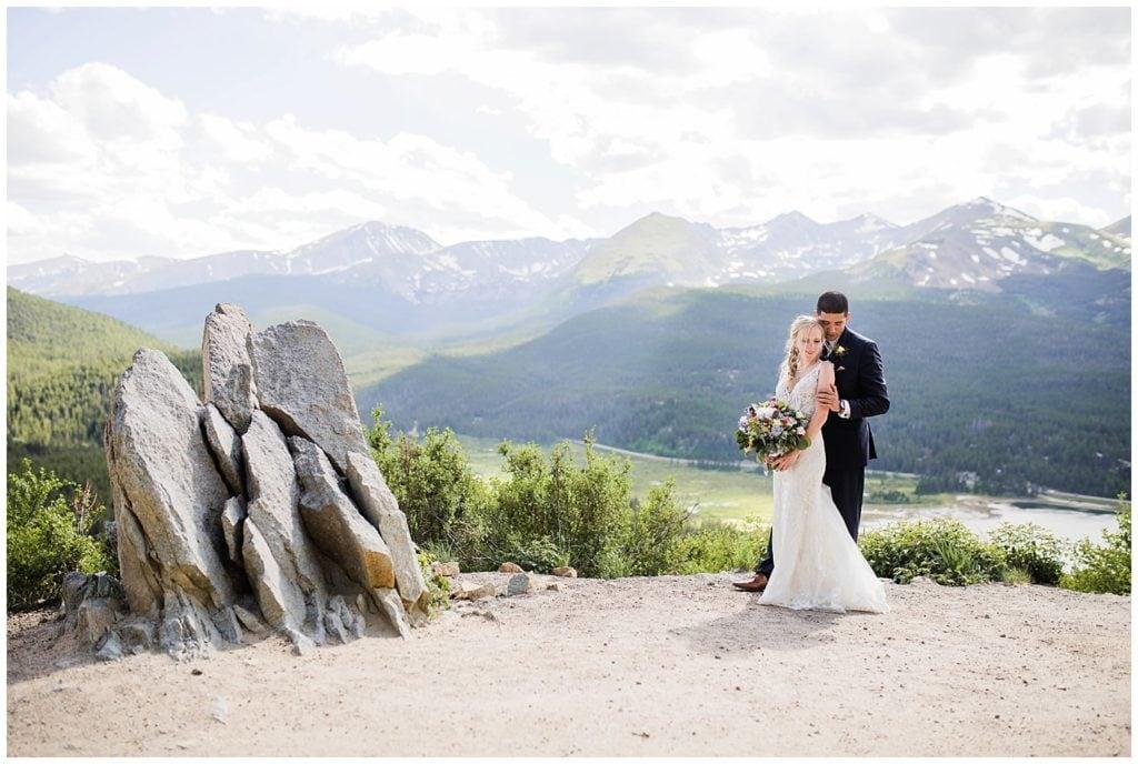 Boreas Pass Wedding Photo