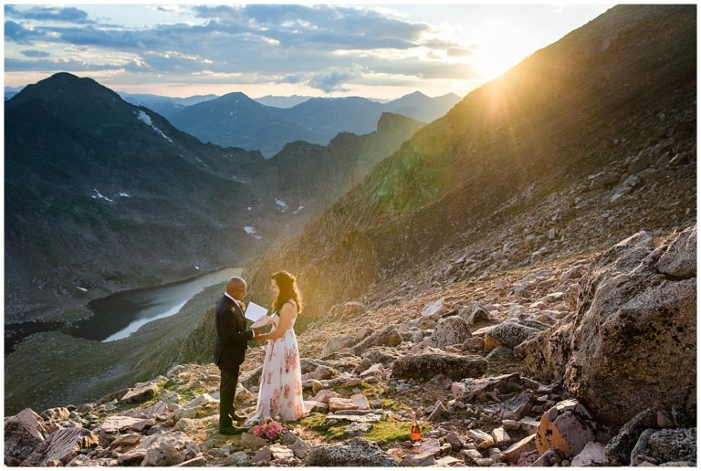Summer Mt. Evans Elopement | Kelly and Irwin