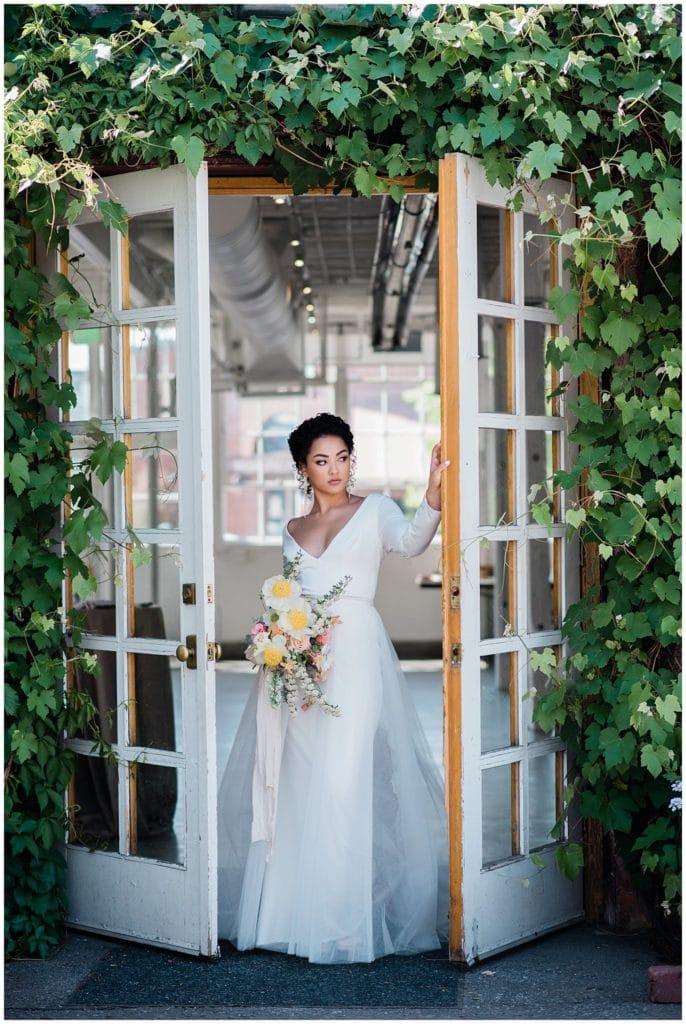 blanc Denver wedding inspiration photo