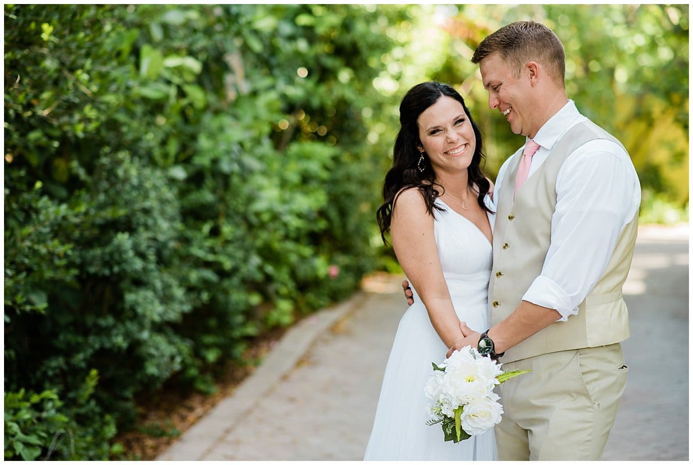 joyful florida wedding photo