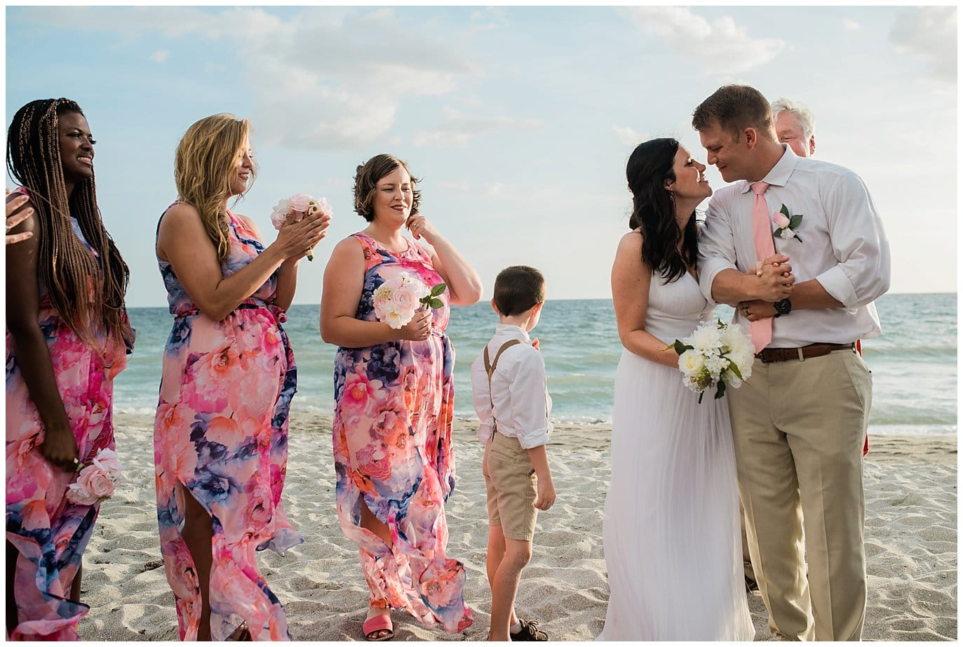 married on Florida Beach photo