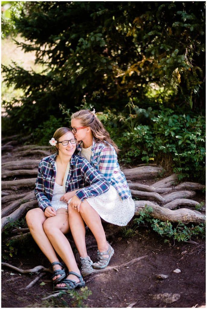 Breckenridge Hiking elopement by Colorado Elopement Photographer Jennie Crate Photographer