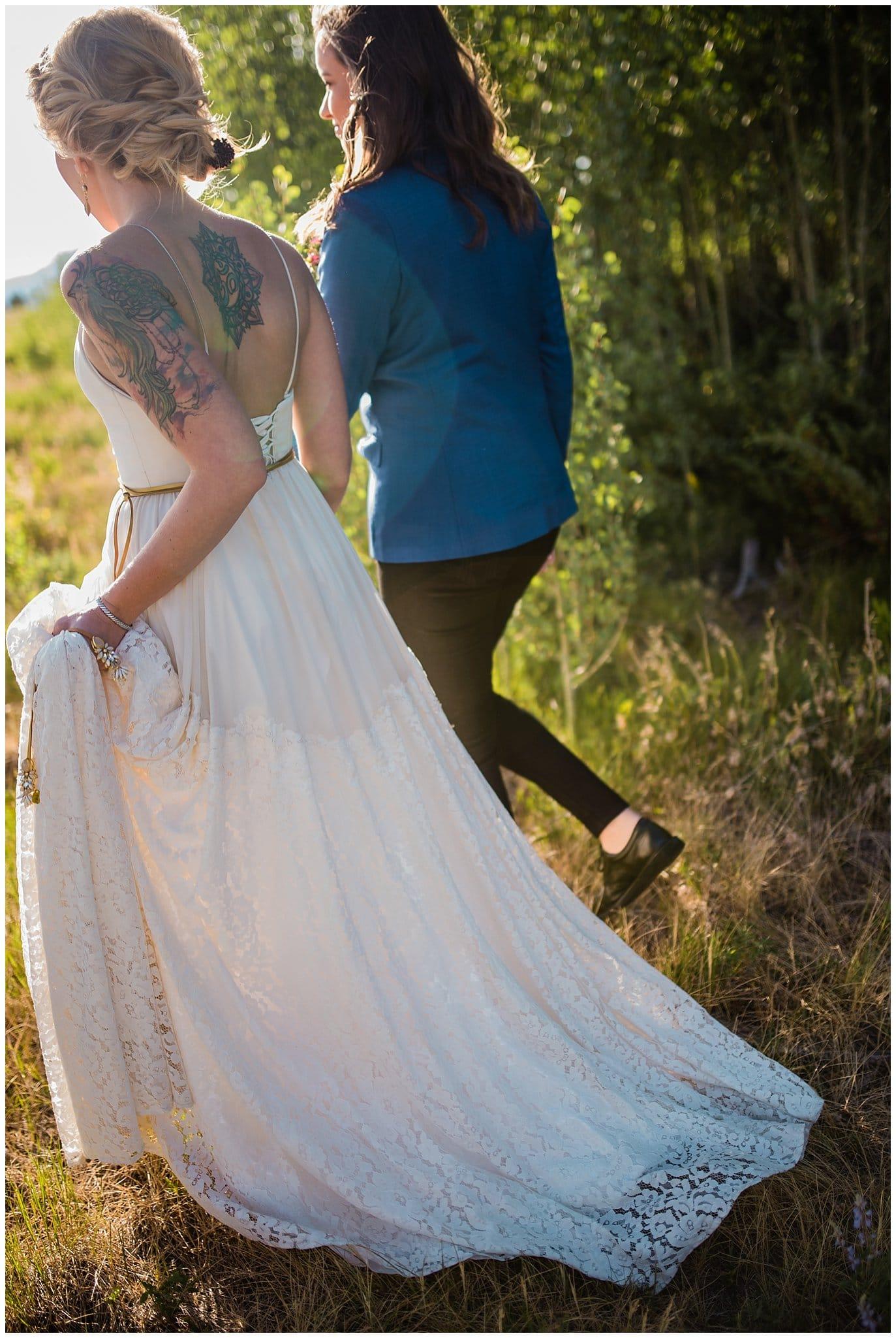 Colorado wedding photo