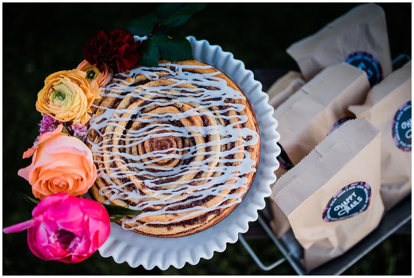 Cinnamon Roll Wedding Cake photo