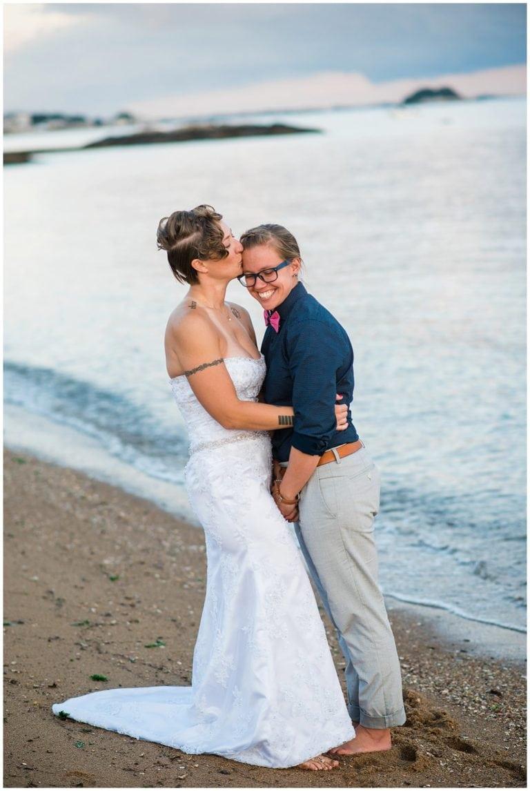 Madison Connecticut Beach Wedding | Carisa and Liz