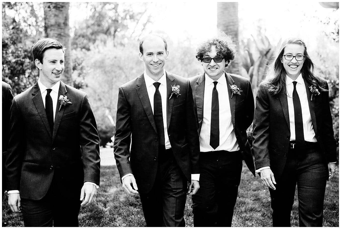 San Diego groomsmen photo