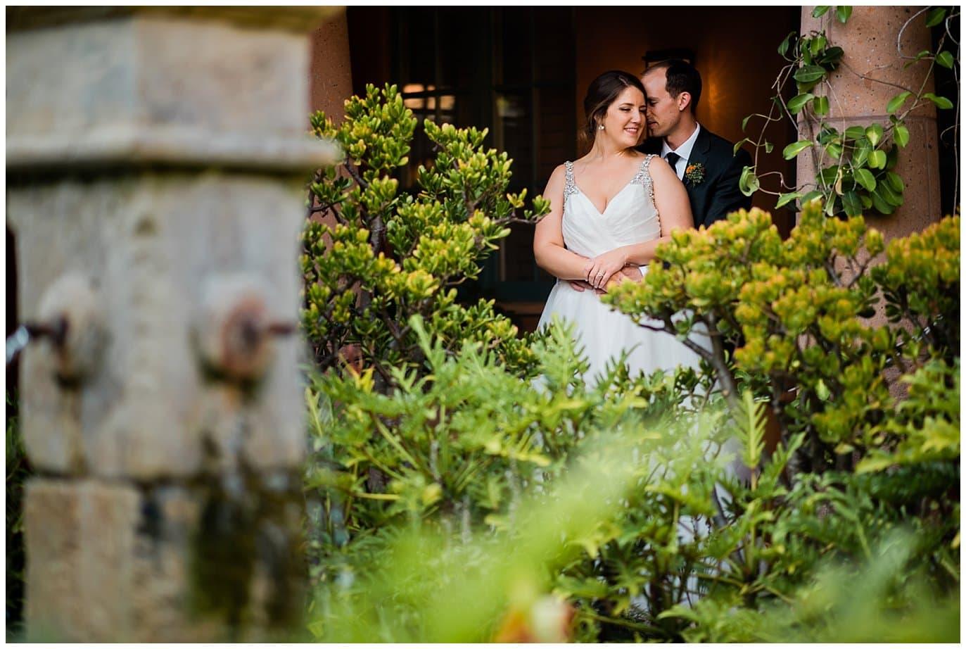 intimate Rancho Valencia wedding photo