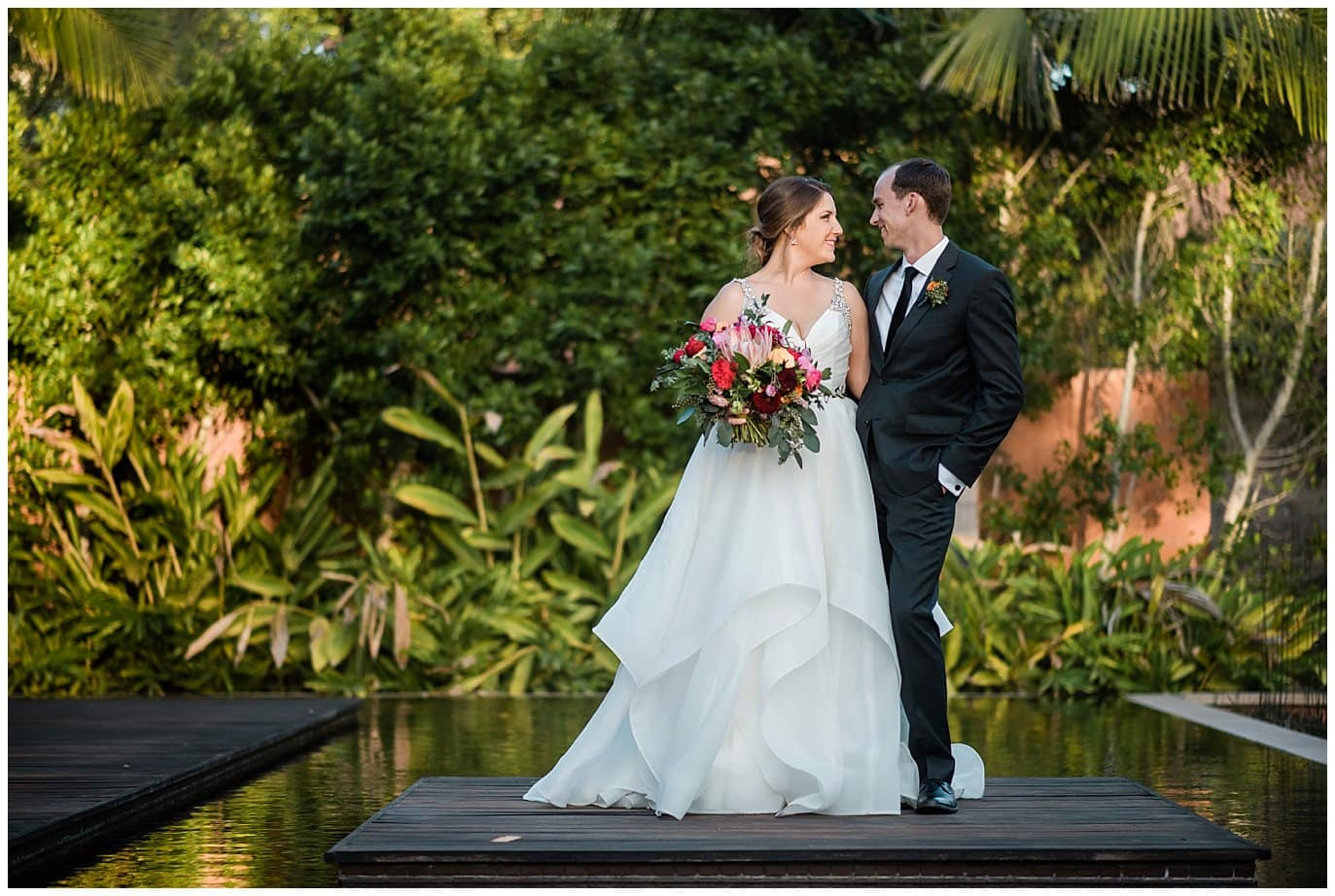 Romanitic Rancho Valencia Wedding photo