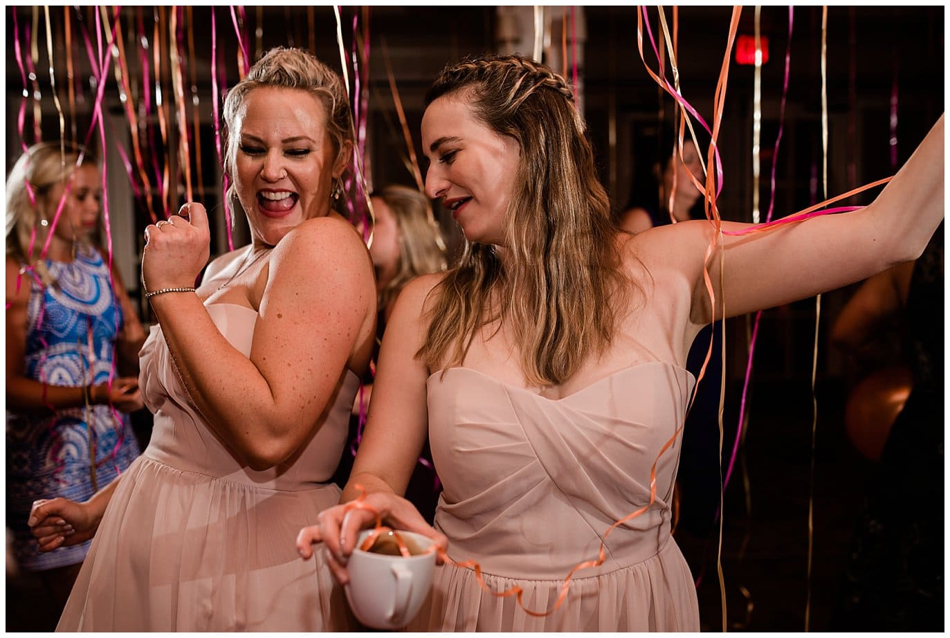 balloon wedding after party photo