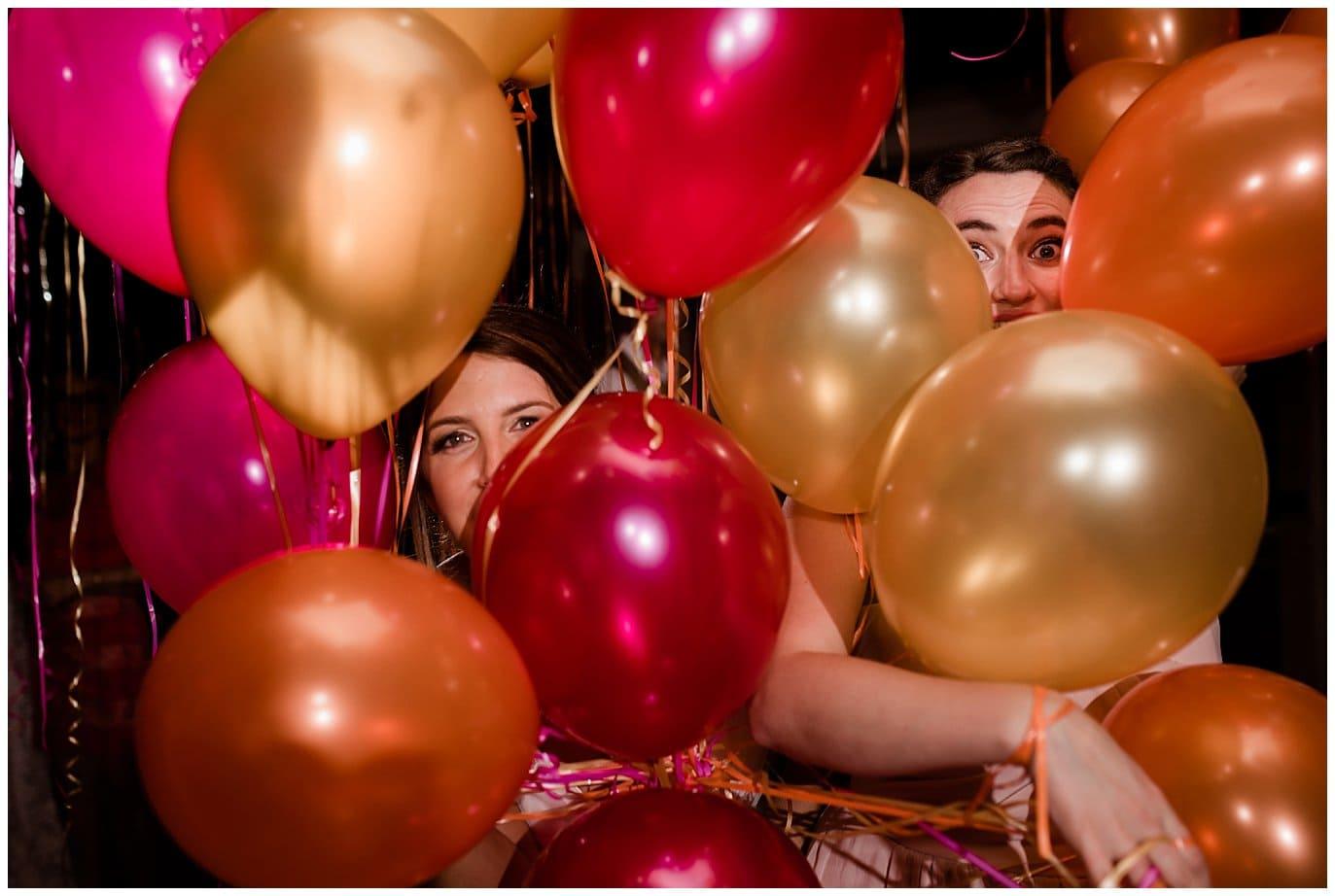 Rancho Valencia balloon after party photo