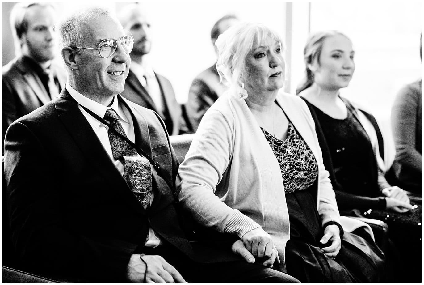 grooms parents at Denver Nikah ceremony photo